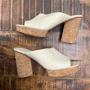MERCEDES CASTILLO Chiara Leather Platform Sandal